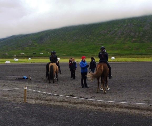 Hulda að þjálfa 4 og 5 gang